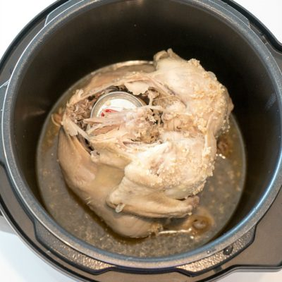 Crock Pot Express Beer Can Chicken